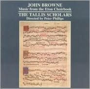 John Browne: Music from the Eton Choirbook