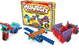 Playstix Vehicles 130 Piece Set