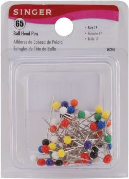 Ball Head Pins-Size 17 65/Pkg