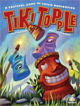 Tiki Topple Board Game
