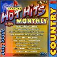 Karaoke: Hot Hits Country July 2008