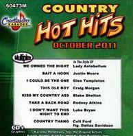Chartbuster Karaoke: Hot Hits Country October 2011
