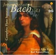 J.S. Bach: Complete Flute Sonatas, Vol. 1