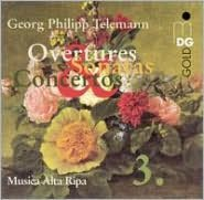 Telemann: Overtures, Sonatas & Concertos, Vol. 3