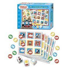 Thomas & Friends Mix 'n Match Bingo