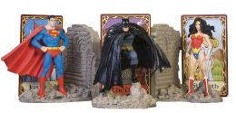 DC Comics Trinity Bookends