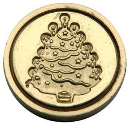 Alvin&Co MSH725XMA Mini Christmas Tree Decorative Seal