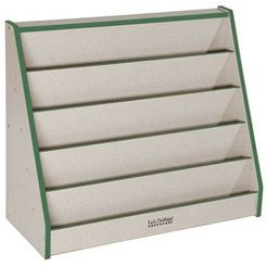 Early Childhood Resource ELR-0639-GN Double Sided Book Display - Laminate - Green
