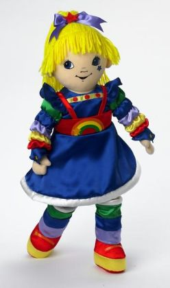Madame Alexander Rainbow Brite Cloth 18 inch Doll