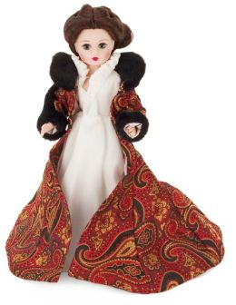 Gone with the Wind Dress Gown Scarlet Ohara 10 inch Doll