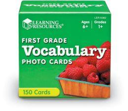 First Grade Vocabulary Photo Cards