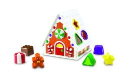 Smart Snacks Gingerbread Shape Sorter