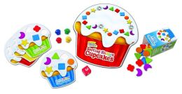 Smart Snacks Sorting Shape Cupcakes Game