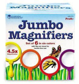 Jumbo Magnifiers  Set of 6