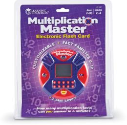 Multiplication Master Electronic Flash Card™