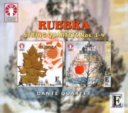 Edmund Rubbra: String Quartets Nos.1-4