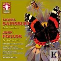Lionel Sainsbury, John Foulds: Cello Concertos