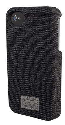 Hex Charcoal Washed Canvas Case for iPhone 4/4S