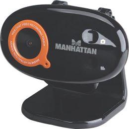 Manhattan 860 Pro Webcam - 1.3 Megapixel - Black - USB