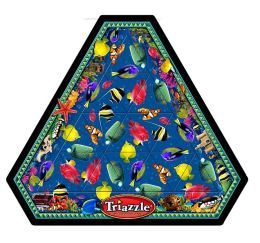 Original Triazzle Brain Teaser Puzzle - Fish