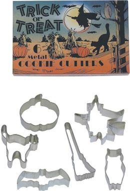 Halloween Cookie Cutters - Set of 6 in Retro Box