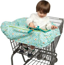 Boppy Protect Me Shopping Cart Cover Deco Stripe
