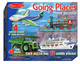 Going Places Floor (48 pc)