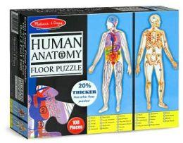Human Body Floor Puzzle