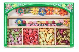 Flower Power Wooden Bead Set