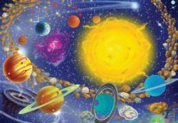 Mellisa n Doug 1378 0100 pc Solar System Cardboard Jigsaw Puzzle