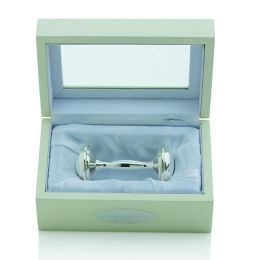 Dumbell Rattle in Keepsake Box