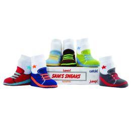 Sams Sneaks 6 Pack Socks