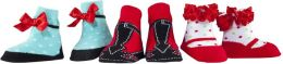 Merry Janes Christmas Socks, 3-pack girls