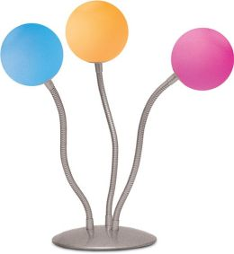 Creative Motion 10796-4 Medusa 3-Ball Color Changing Lamp