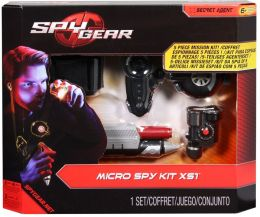 Spy Gear Micro Spy Kit - 4pk