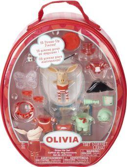 Olivia Figure set with Vinyl Bag (4pk)