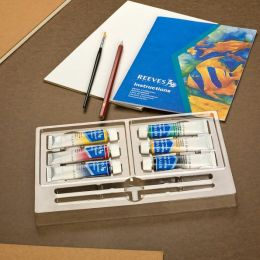 6 Watercolour Tubes Starter Set