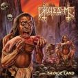 CD Cover Image. Title: Savage Land, Artist: Gruesome
