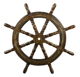 A la Maison Ship's Steering Wheel