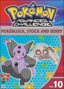 Pokemon Advanced Challenge, Vol. 10: Pokeblock, Stock and Berry