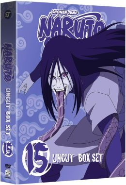Naruto Uncut Box Set 15