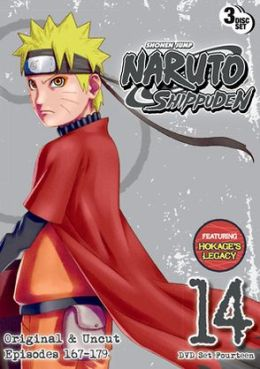 Naruto Shippuden Uncut Set 14 (3pc) / (Full 3pk)
