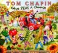 CD Cover Image. Title: Give Peas a Chance, Artist: Tom Chapin