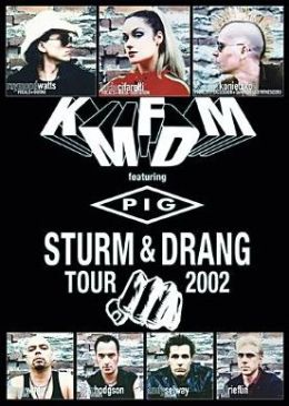 KMFDM: Sturm & Drang Tour 2002
