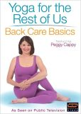 Video/DVD. Title: Peggy Cappy: Yoga for the Rest of Us: Back Care Basics