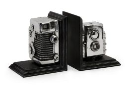 Lighting Business 36133 Vintage Camera Bookends