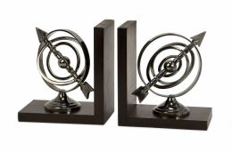 Lighting Business 60071 Calisto Armillary Bookends