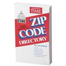 Dome Publishing Company- Inc. DOM5100 Zip Code Directory- Abridged- 752 Pages- 4-.38in.x7in.
