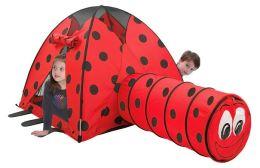 Ladybug Tent & Tunnel Combination