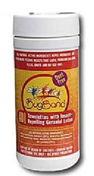 Bug Band 88540 Towelettes - 40 Count Tub for People